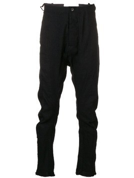 Masnada drop crotch trousers - Black