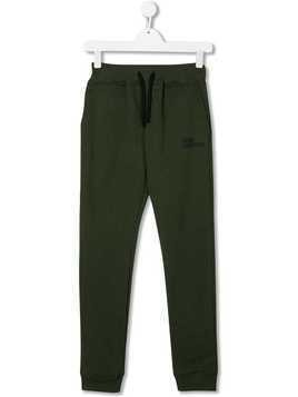 AI Riders on the Storm TEEN fleece logo trousers - Green