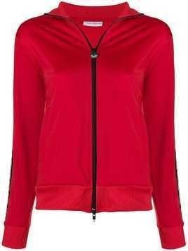 Chiara Ferragni winking eye lightweight jacket - Red