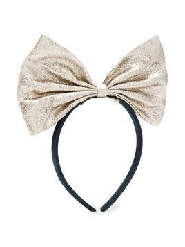 Hucklebones London Giant Bow hairband - White