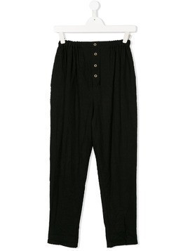 Little Creative Factory Kids button-up trousers - Black