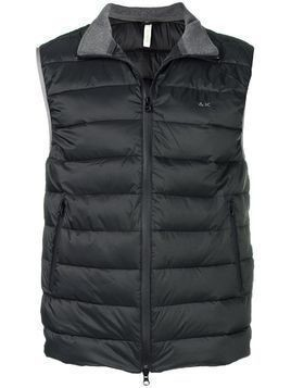 Sun 68 padded gilet jacket - Black