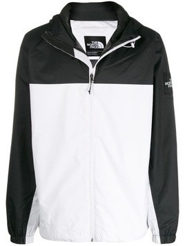 The North Face Mountain Q zip-up jacket - White
