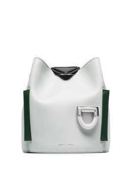 Danse Lente light-green Josh leather shoulder bag