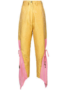 Barbara Bologna Be high waisted trousers - Yellow