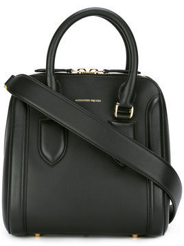 Alexander McQueen - Heroine tote - Damen - Calf Leather - One Size - Black