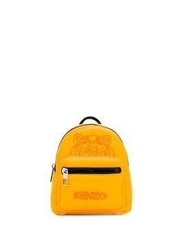 Kenzo mini Tiger embroidered backpack - Yellow