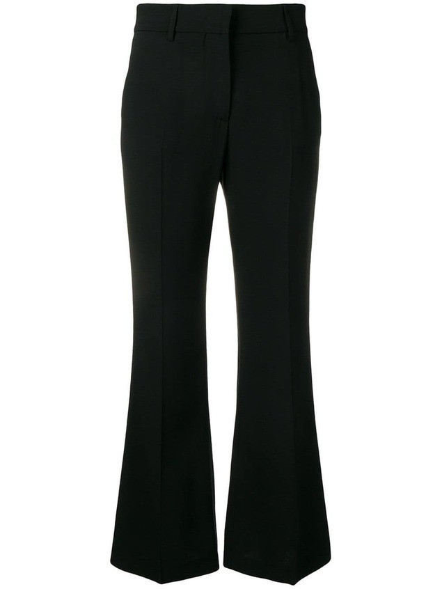 MSGM flared trousers - Black