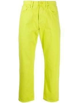 Acne Studios 1996 Reactive Dye straight-leg jeans - Green