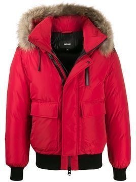 Mackage Nathan padded bomber jacket - Red