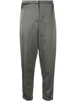 Fabiana Filippi high rise tapered trousers - Grey