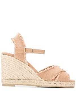 Castañer Bromelia wedge sandals - Neutrals
