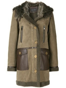 Cara Mila Kiera shearling coat - Grey