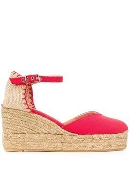 Castañer Chiarita wedges - Red