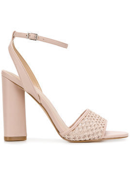 Kendall+Kylie Genna sandals - Pink & Purple