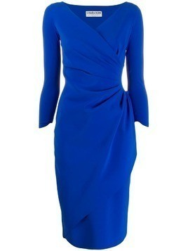 Le Petite Robe Di Chiara Boni ruched midi dress - Blue
