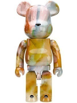 Medicom Toy marble print bear - Yellow