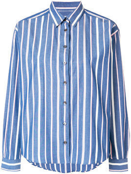 Closed striped denim shirt - Blue
