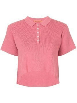 Manning Cartell Setting the Tone cropped polo - Red