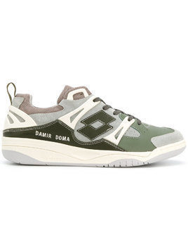 Damir Doma panelled sneakers - Green
