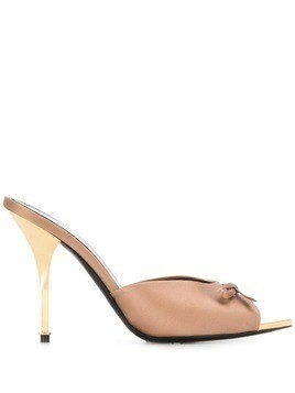Tom Ford bow detail mules - Neutrals