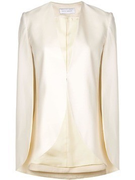 Marina Moscone half-moon jacket - White