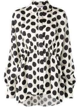 Dice Kayek polka-dot print shirt - White