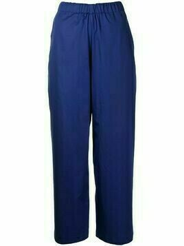 Sofie D'hoore high-waisted cropped trousers - Blue