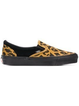 Vans leopard slip-on sneakers - Black