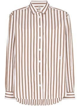 Toteme Capri button-down striped shirt - Red