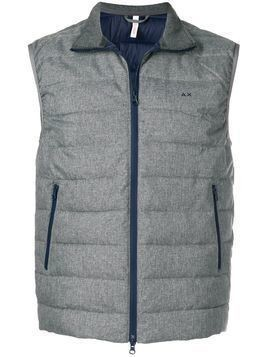 Sun 68 padded gilet jacket - Grey