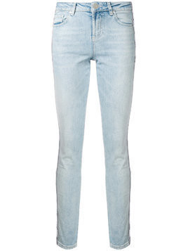 Zoe Karssen light wash skinny jeans - Blue