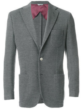 Fashion Clinic Timeless classic blazer - Grey
