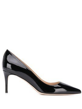 Deimille varnished pointed pumps - Black