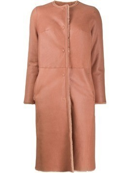 Desa 1972 single breasted coat - PINK