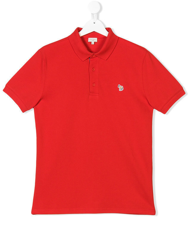 Paul Smith Junior horse embroidered polo shirt