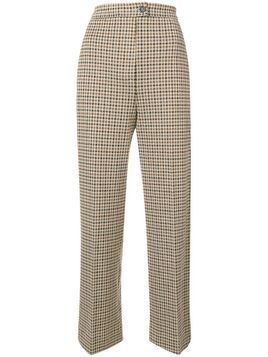 Moncler houndstooth trousers - Nude & Neutrals