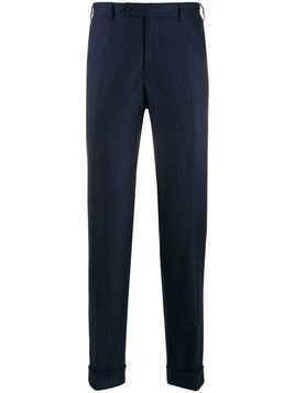 Canali tailored wool trousers - Blue