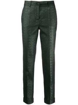 P.A.R.O.S.H. cropped skinny trousers - Green