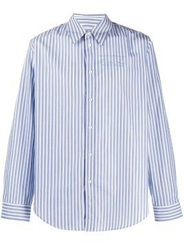 Martine Rose striped shirt - White