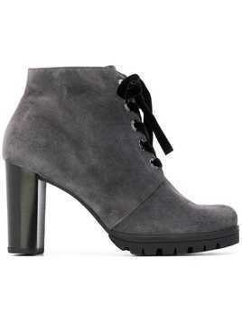Hogl lace-up ankle boots - Grey