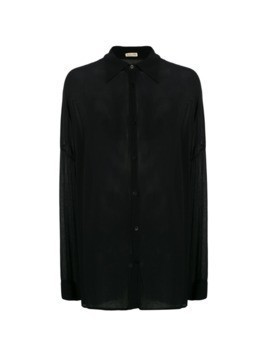 Jean Paul Gaultier Vintage sheer shirt - Black