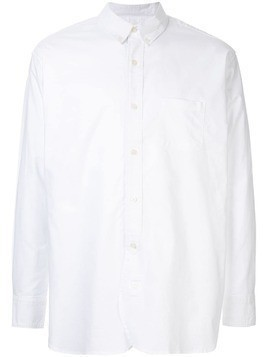 Makavelic printed button down shirt - White