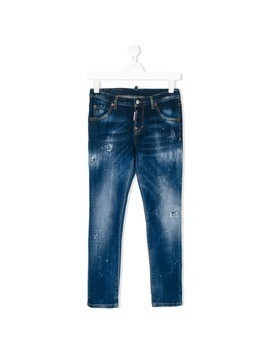 Dsquared2 Kids distressed jeans - Blue