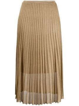 Vince pleated skirt - GOLD