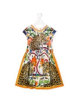Dolce&Gabbana Kids printed dress - Multicolour
