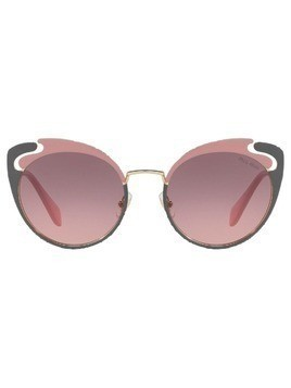 Miu Miu Eyewear cat-eye shaped sunglasses - PINK