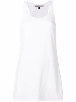 Fisico sleeveless tank dress - White