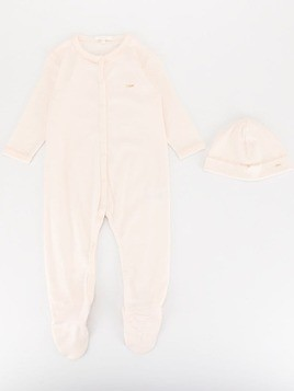 Chloé Kids pajamas and hat set - Pink