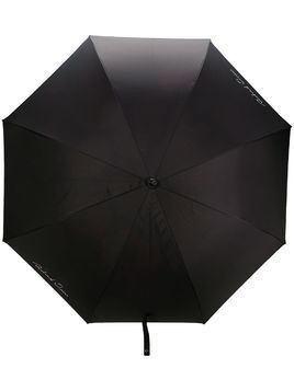 Richard Quinn signature logo print umbrella - Black